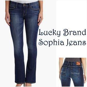 •  {Lucky Brand} Sophia Boot Jeans